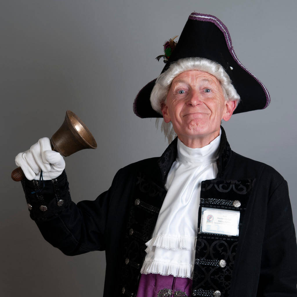 Town Crier Alistair Murray Burnham & Highbridge Town Council