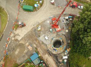 Highbridge flood alleviation works