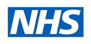 NHS Blue and White logo