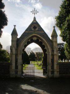 Lych Gate at Burnham Cemetery