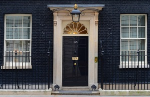 Front Door 10 Downing Street