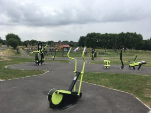 image of outdoor gym apex park