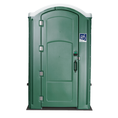 image of portable toilet